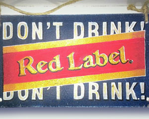 «Red Label» №022 / Sign №022